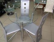 столы из стекла,  стулья,  cамые низкие цены
