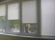 Ткани для рулонных штор и готовые шторы Симферополь Крым.
