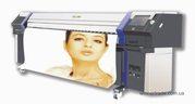 Широкоформатная печать со скоростью 180 м. кв./час.