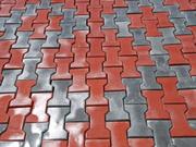 Укладка тротуарной плитки,  гранита (брусчатки,  плитки)