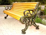 Элитные скамейки, фонари, изделия из художественного литья.