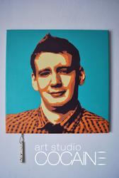 Новинка портрет в стиле поп-арт