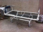 Кровать  Двухсекционная функциональная медицинская на колёсах