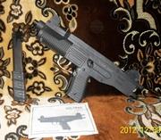 Стартовый пистолет UZI(Voltran Swat)Auto,  калибр 9мм.
