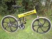 Велосипед Хаммер ,  горный ,  складной.