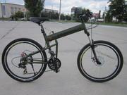 Велосипед Hummer горный складной.