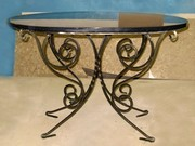 Кованая мебель Севастополь. Мебель из металла.