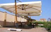 Зонты солнцезащитные. Зонты для кафе,  баров и ресторанов.