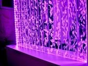 Водно-пузырьковые панели,  колонны,  экраны