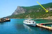 Шикарный участок вид на море ЮБК бухта Ласпи для дома вашей мечты !