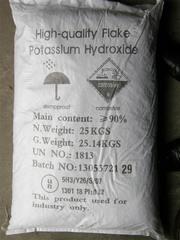 Калий гидроокись  (Гидроксид калия,  Kalium hydroxidum,  Potassium hydro