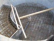 Бетонные работы,  строительство монолитного железобетонного каркаса зда