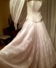 Продам свадебное платье!италия