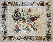Мозаичное панно иконы фасад бассейн хамам плитка мозаика