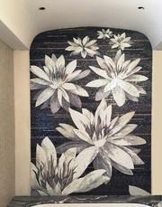 РАССРОЧКА на мозаичные панно мозаику смальту хамам бассейн плитку