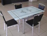 Cтолы из стекла,  стулья,  cамые низкие цены,   доставка